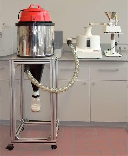 Rotor-Schnellmühle PULVERISETTE 14: Feinstzerkleinerung temperaturempfindlicher Proben