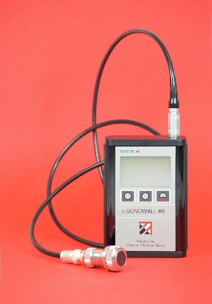 Wanddickenmessgeräte: Mit Ultraschall durch die Wand