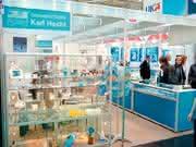 Dispenser Assimat Nr. 163: Glaswarenfabrik Karl Hecht seit 1969 auf der MEDICA