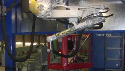 Brennroboter der neusten Generation: Riesenschlange