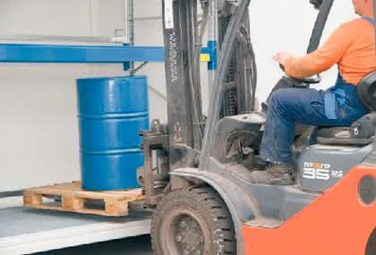 Arbeitssicherheit: Zellen, Boxen, Lager