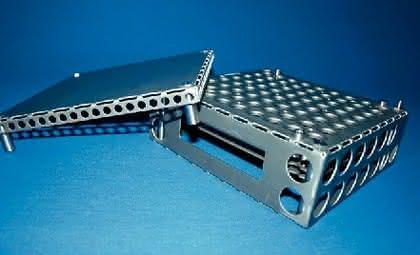 Werkstück-Trägermagazin: Leichtes Teile-Handling