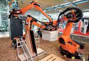Industrieroboter: Gut Holz