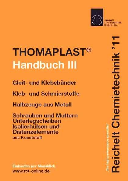 THOMAPLAST-Handbuch-III: Befestigungstechnik