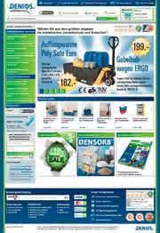 News: DENIOS AG mit neuem Shop-System