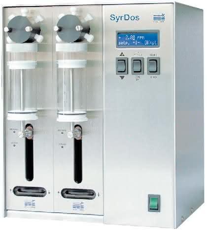 Spritzendosierer SyrDos: Präzisions-Spritzendosierer