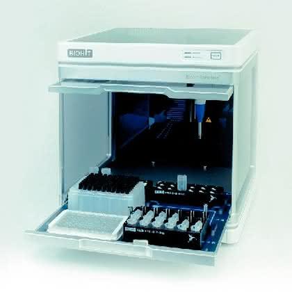Pipettierautomat Roboline: Pipettierroboter