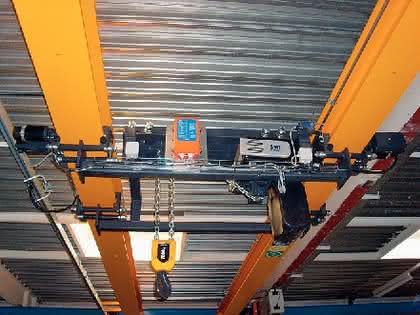 Material handling: Decken-Lösungen