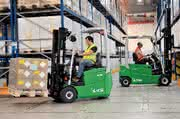 Material handling: Mast verbessert