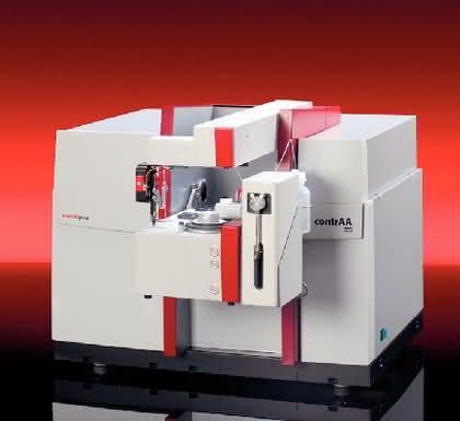 Atomabsorptionsspektrometer contrAA 600: AAS: contrAA-Familie erweitert
