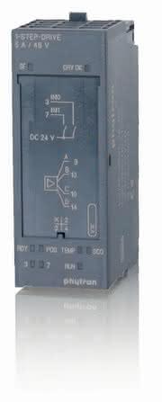 SPS-Schrittmotoren-Modul: Für dezentrale Systeme