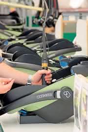 Tensor-SL-Schrauber: Kunststoff-Kindersitze  prozesssicher verschrauben