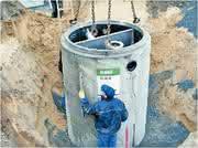 Leichtflüssigkeitsabscheider: Beton statt Kunststoff