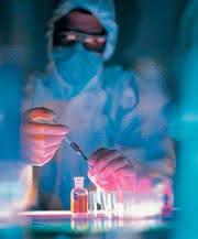 Labortechnik: Vorbereitung von Evaporationsproben