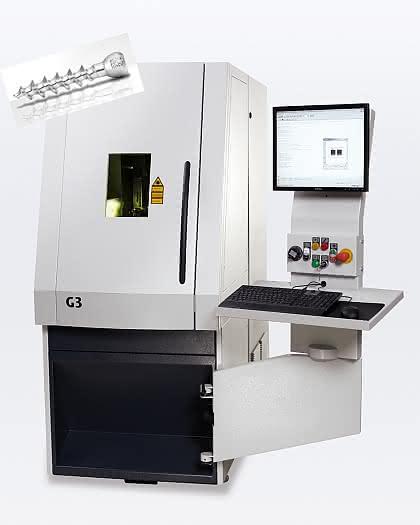 G3: Kleine Bauteile präzise lasermarkieren