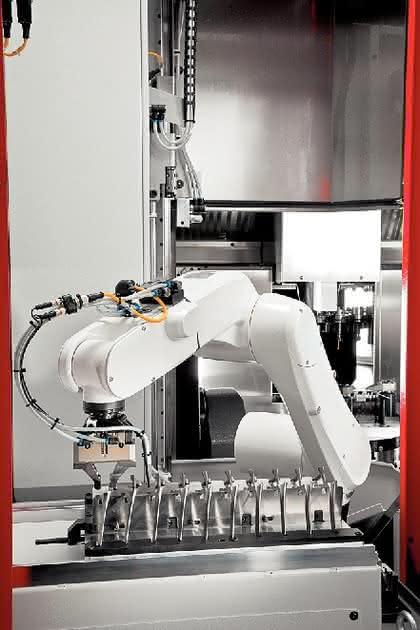 Robotersystem: Klein und oho
