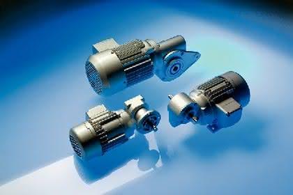 IE2-Kleingetriebemotoren: IE2 schon ab 0,09 kW