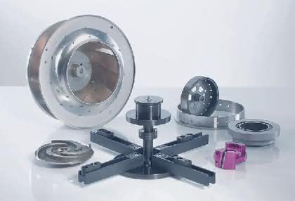 Rotorspannsystem: Exaktes und sicheres