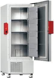 Ultra-Tiefkühlschrank UF V SECURE GUARD: Mit intelligentem Türmechanismus
