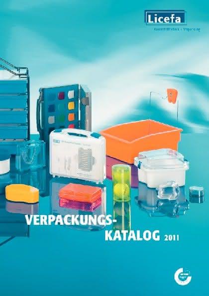 Verpackungskatalog 2011: Verpackungskatalog