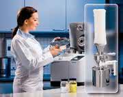 Laborgeräte: Ultra-Zentrifugalmühle mit neuem Zyklon