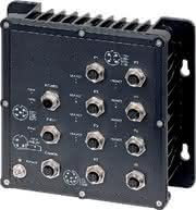 IP67-Switch: Vibrationssichere  M12-Anschlüsse