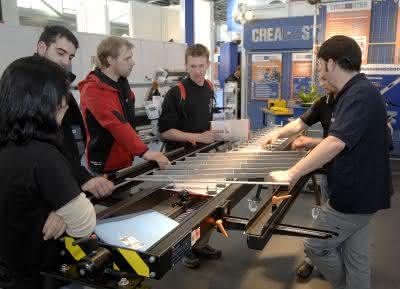 Märkte + Unternehmen: Metall München: Die moderne Welt des Metallhandwerks