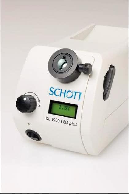Mikroskopie: LED-Lichtquelle mit Software-Schnittstelle