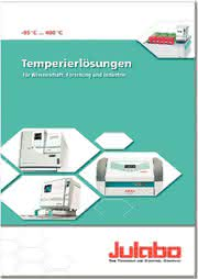 JULABO-Katalog 2011: Neuer Katalog 2011