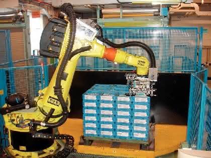 Multisensor-Lösungen für Material handling: Handling mit Sicht
