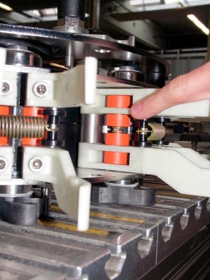 Polymerlager: Sonderlösung  erhöht Standzeiten