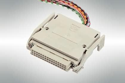 Kabelsteckverbinder: Mit bis zu 48 Federkontakten