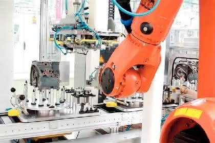 Industrieroboter: Alle 40 Sekunden