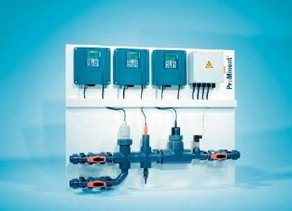 Mess- und Regelstelle Dulcotrol: Chlormessung pH-unabhängig