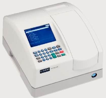 Mit langlebiger Xenon-Blitzlampe: UV/VIS-Ratiobeam-Spektralphotometer