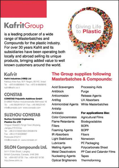 K-Messe: CONSTAB Polyolefin Additives GmbH