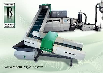 K-Messe: Rodent Recycling Machinery