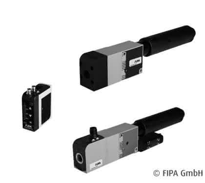 Handhabungstechnik: FIPA lässt Druckluft aus den Ejektoren