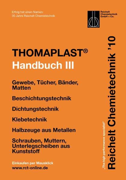 Handbuch THOMAPLAST-III: Verbindungs-, Dichtungs- und  Befestigungstechnik