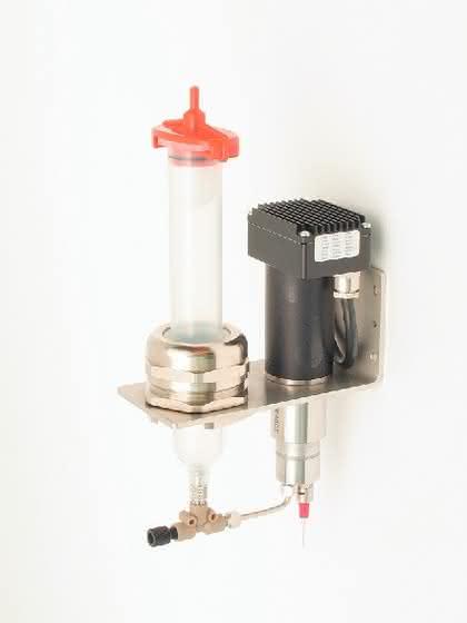 Kleinstmengendosiergerät: Dosiergerät für viskose Medien