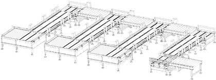 Material handling: Module im Fluss