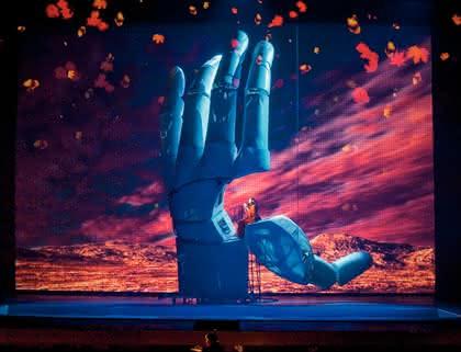 Elektrischer Antrieb DNC: Mano Gigante