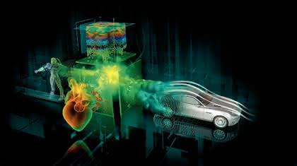 Hardware: Mit bis zu 448 Prozessorkernen  durchs Finite-Elemente-Universum