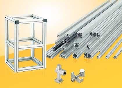 Aluminiumprofile: Katalog mit Profil