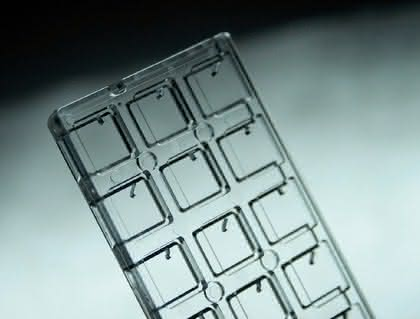 Micro-Array-Handling: NOC-PCR +  Echtzeitdetektion