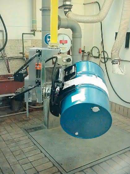 Handhabungstechnik: Für schwere Fässer