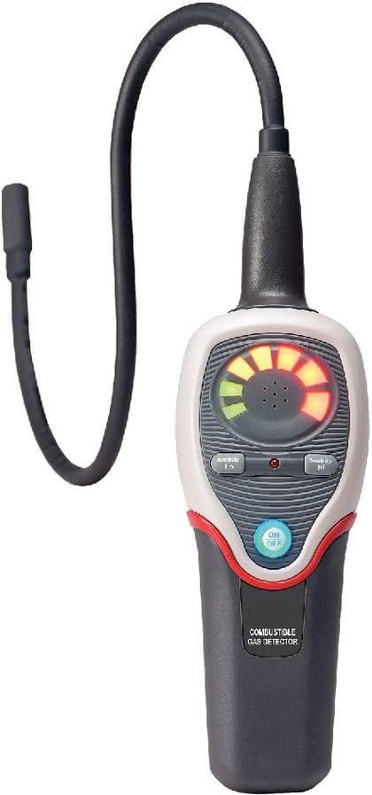 Gasdetektor GD 383: Suche nach brennbaren Gasen
