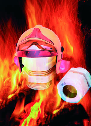 Kabelverschraubung: Es brennt