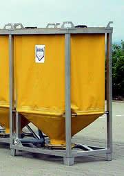 Flexibler Container: Leicht rein, leicht raus