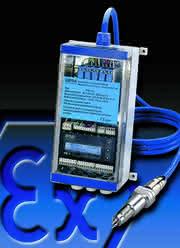 Strömungsmesser FM1-Ex: Strömungsmess-System nach ATEX100a
